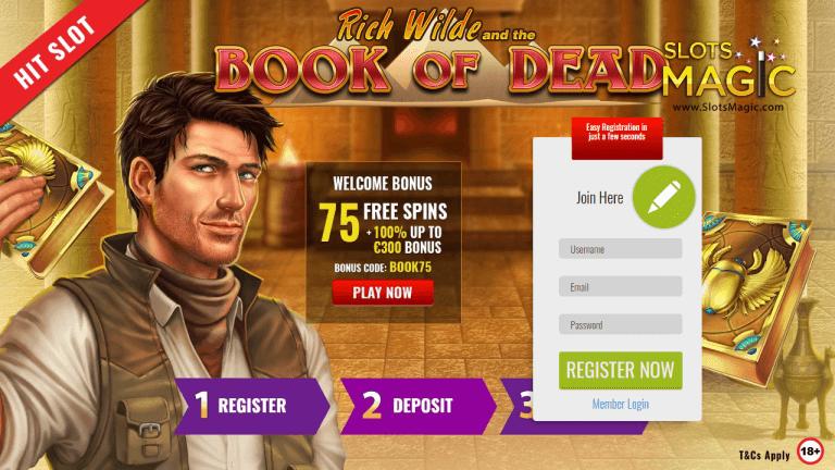 SlotsMagic Casino Screenshot 1