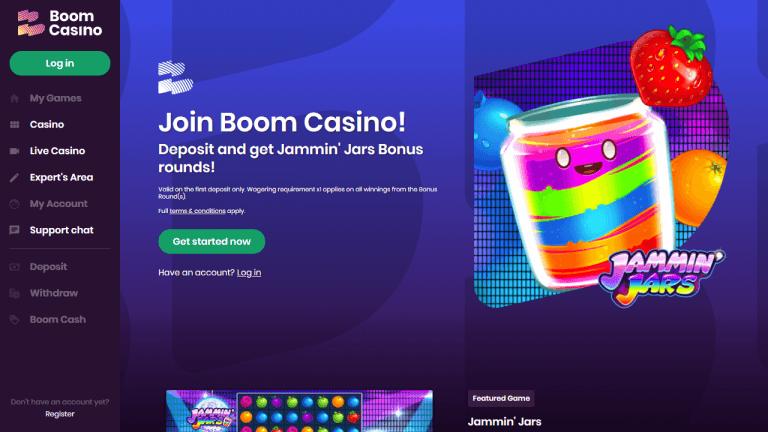 Boom Casino Screenshot 1