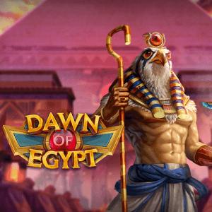 Dawn Of Egypt logo achtergrond