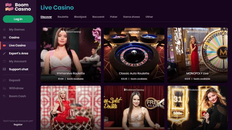 Boom Casino Screenshot 3