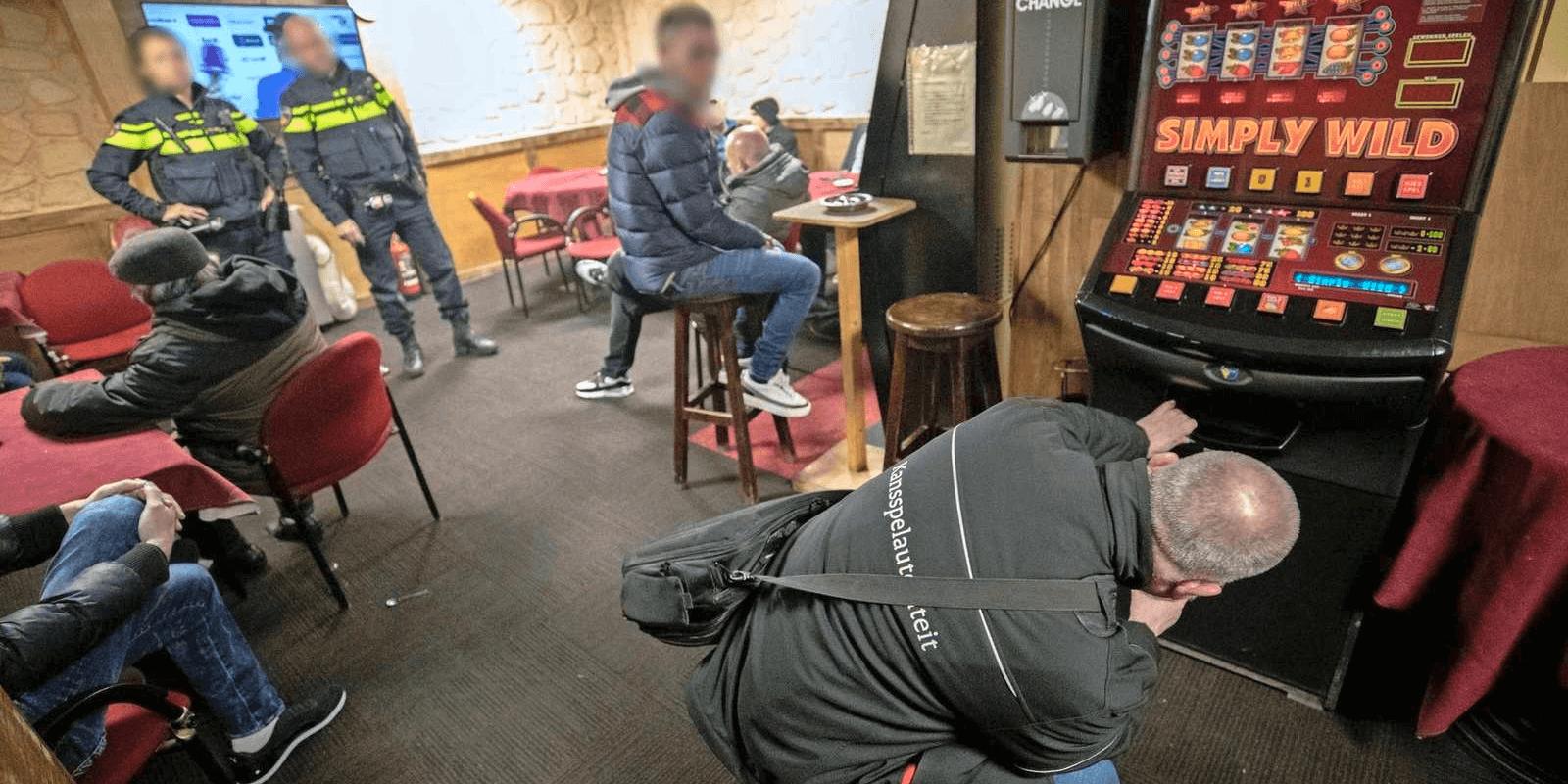 Invallen in Den Haag en Arnhem tegen illegaal gokken