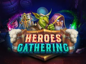 Heroes Gathering logo achtergrond
