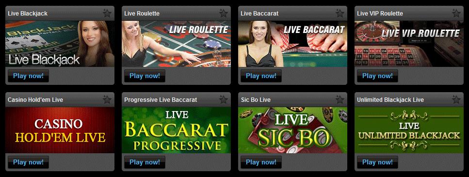 Live casino CS 5G