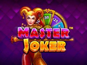 Master Joker logo achtergrond