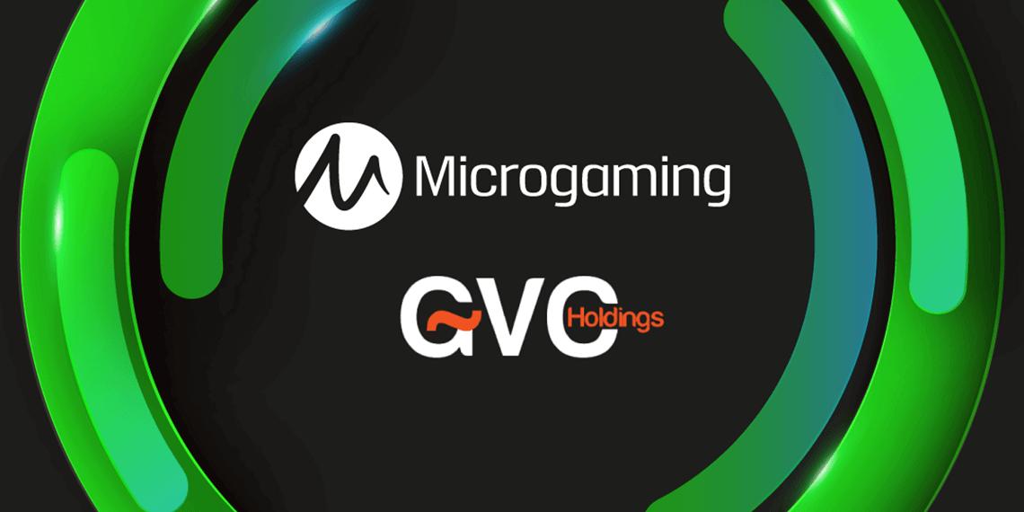 GVC Holdings verlengt partnerschap met Microgaming