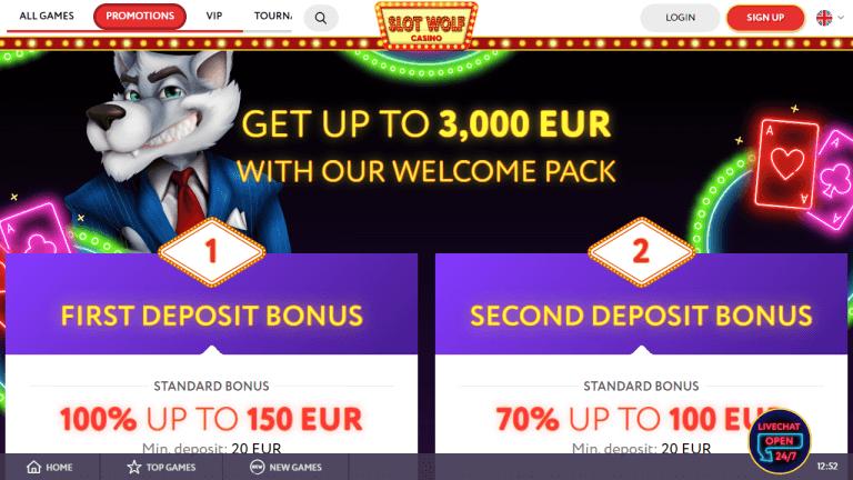 SlotWolf Screenshot 2