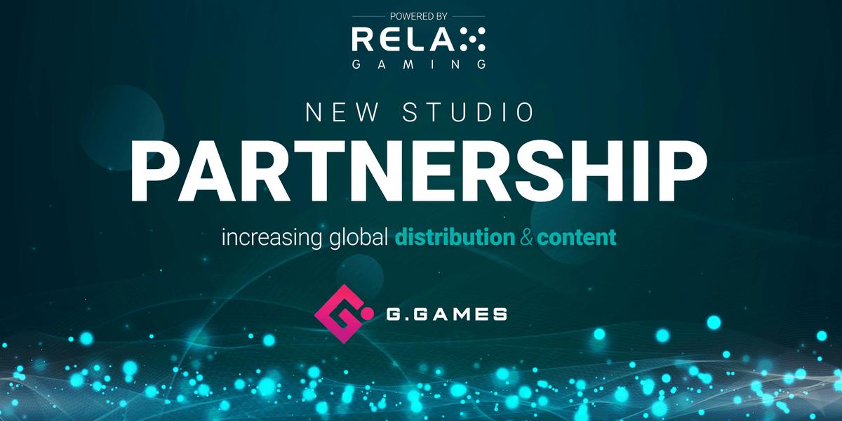 Relax Gaming en G. Games ondertekenen samenwerking