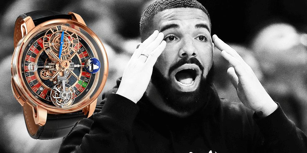 Rapper Drake koopt opvallend Jacob & Co roulette horloge