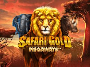 Safari Gold Megaways logo achtergrond