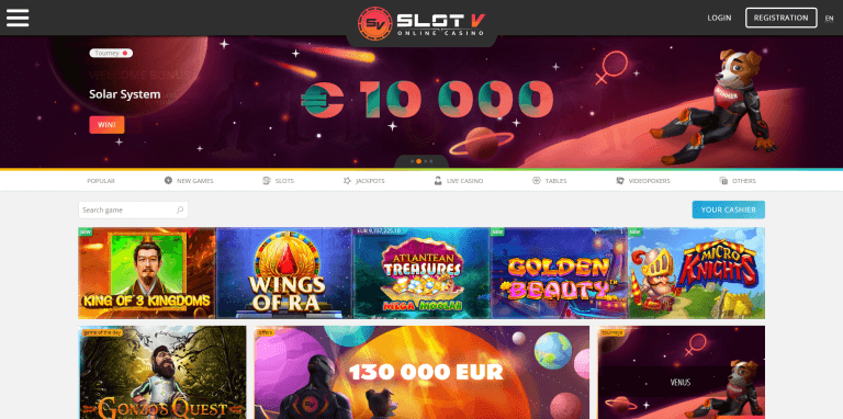 SlotV Casino Screenshot 1