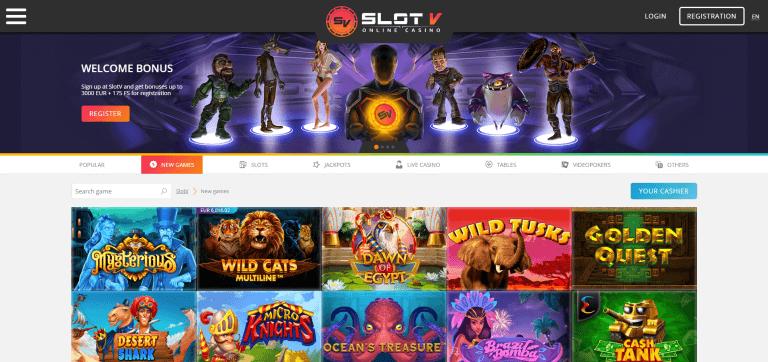 Slotv Casino Betrouwbaar Bonus Review Mrt 2021 Casinoscout Nl