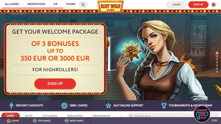SlotWolf Screenshot 1