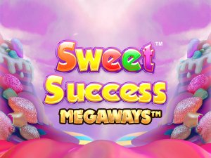 Sweet Success Megaways logo achtergrond