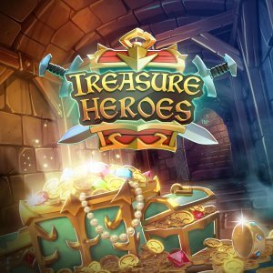 Treasure Heroes side logo review