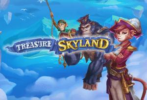 Treasure Skyland logo achtergrond