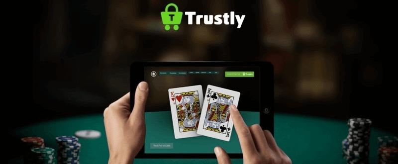 trustly afbeelding met ipad