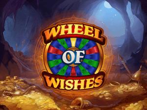 Wheel Of Wishes logo achtergrond