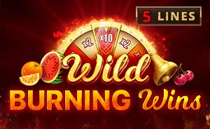 Wild Burning Wins logo achtergrond