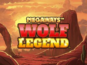 Wolf Legend Megaways logo achtergrond