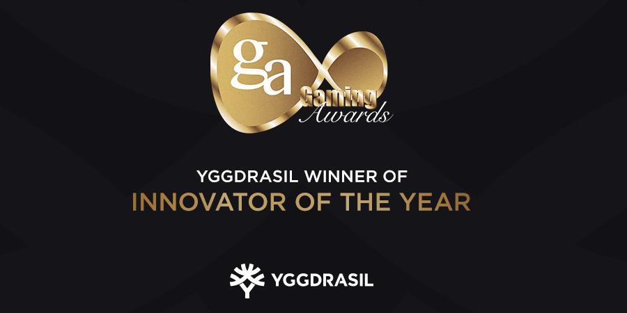 Yggrasil wint innovatie van het jaar award tijdens IGA's 2020