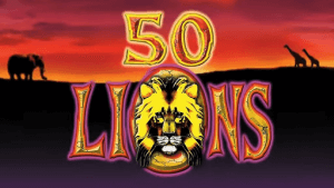 50 Lions logo review