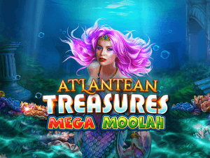 Atlantean Treasures Mega Moolah logo review