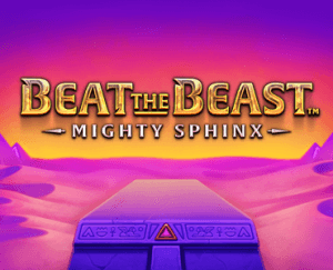 Beat The Beast: Mighty Sphinx logo achtergrond