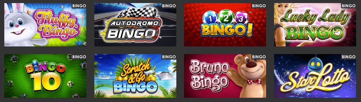 Eurocoin bingo games