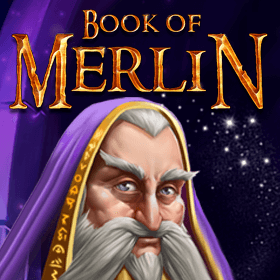 Book of Merlin logo review
