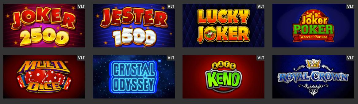 VLT games