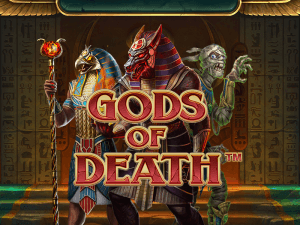 Gods Of Death logo achtergrond