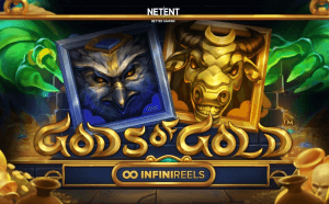 Gods Of Gold INFINIREELS logo review