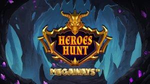 Heroes Hunt Megaways logo achtergrond
