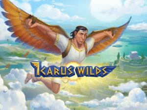 Icarus Wilds logo achtergrond