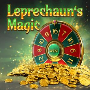 Leprechaun's Magic logo achtergrond