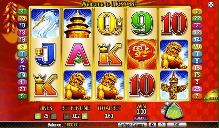 Lucky 88 Slot Spelen En Gokkast Review Aristocrat Casinoscout Nl