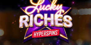 Lucky Riches Hyperspins logo achtergrond