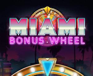 Miami Bonus Wheel logo achtergrond