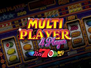 Multiplayer 4 Player logo achtergrond