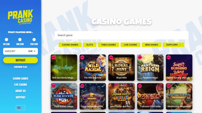 Prank Casino Screenshot 2