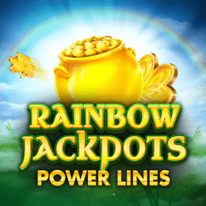 Rainbow Jackpots Power Lines logo review