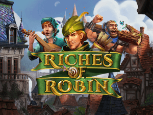 Riches Of Robin logo achtergrond