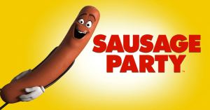 Sausage Party logo review