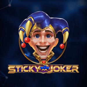 Sticky Joker logo achtergrond