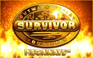 Survivor Megaways logo achtergrond