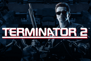Terminator 2 logo review