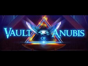 Vault Of Anubis logo achtergrond