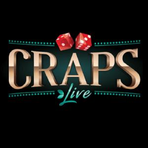 Live craps logo achtergrond