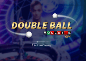 Double Ball Roulette logo achtergrond