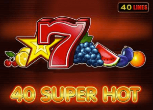 40 Super Hot logo review